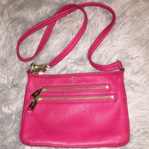 Cole Haan red crossbody bag